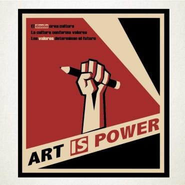 Art is power