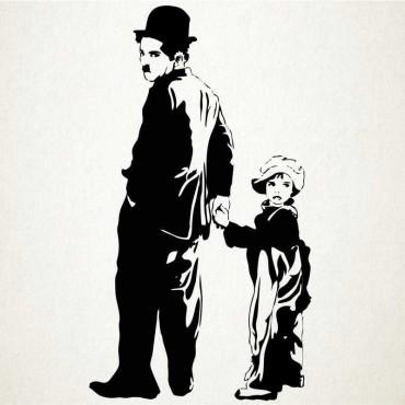 Chaplin y chico