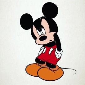 Mickey enfadado