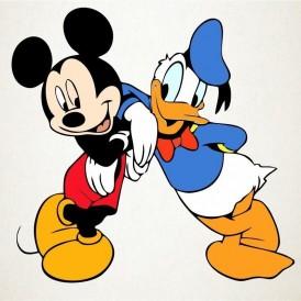 Mickey y Donald