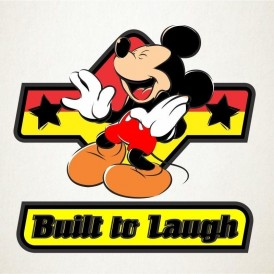 Mickey construido para reir