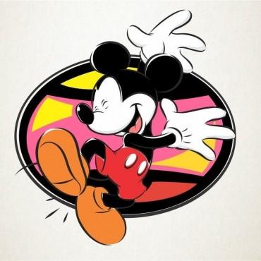 Mickey alegre